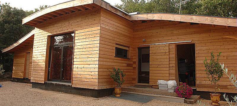 visuel maison bois, eco-construction