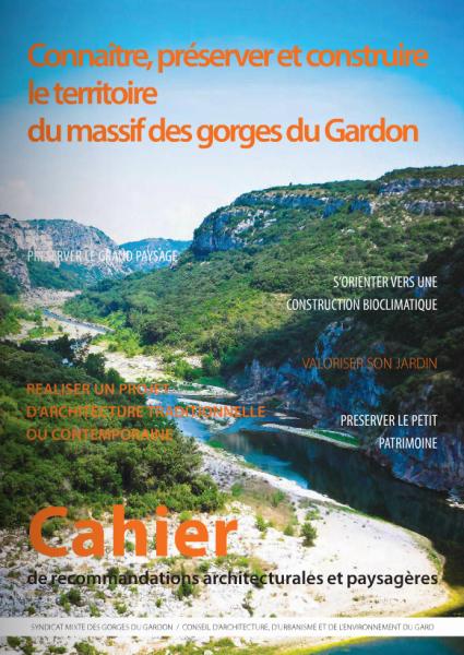 Cahier de recommandations architecturales et paysagères des gorges du gardon (CRAP).