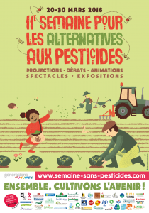 affiche informations semaine alternatives pesticides