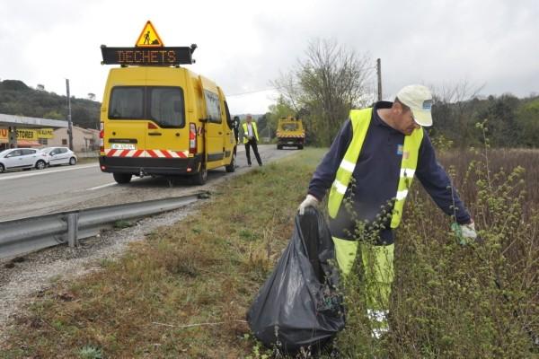 Photo ramassage déchets, venezobre
