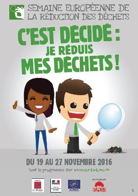 La semaine européenne de réduction des déchets dans le Gard